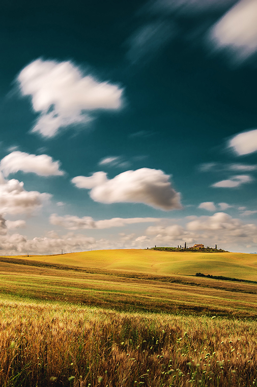Tuscany in motion Italy landscape