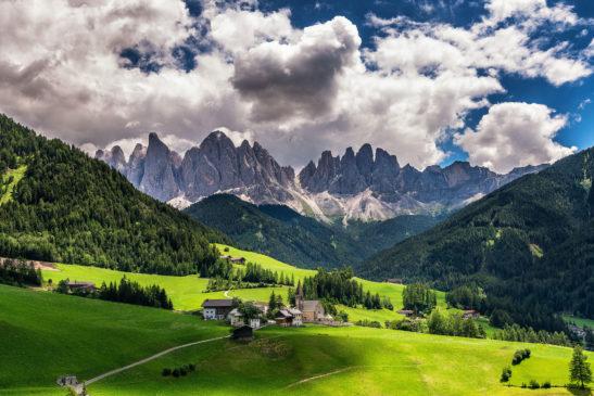 Val di Funes Italy landscape