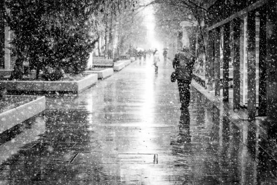 Beyond Bucharest black and white