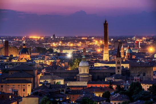 Bologna Italy cityscape