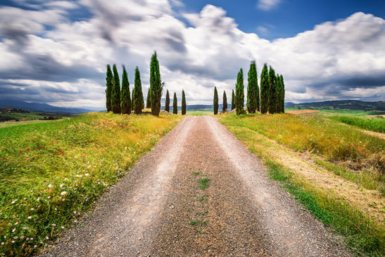 Heaven's Gate Val d'Orcia Tuscany Italy landscape
