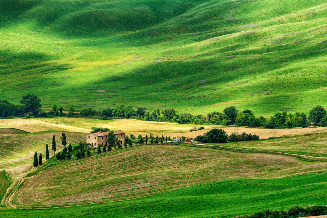 Magic of Tuscany Italy landscape