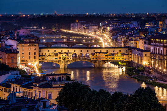 Ponte Vecchio Florence Italy cityscape