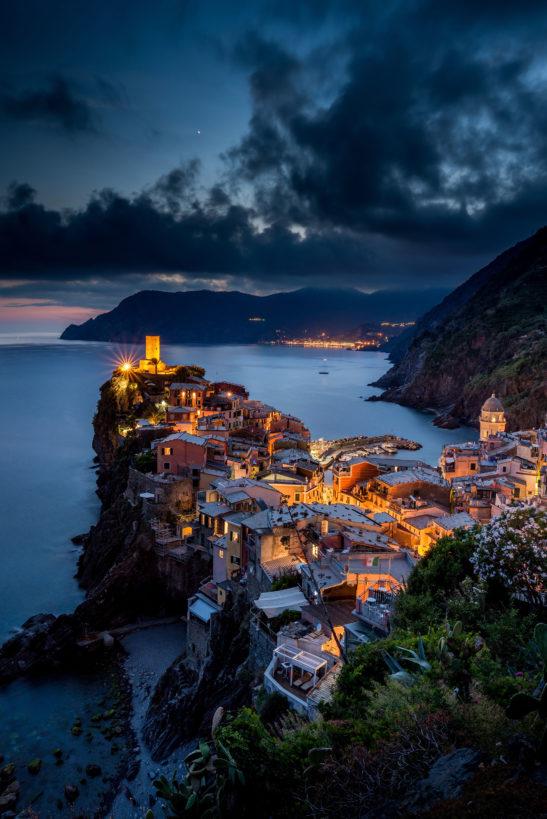 Vernazza Cinque Terre Italy cityscape