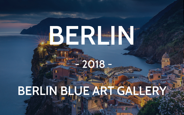 Berlin 2018 Blue art gallery Vernazza Cinque Terre cityscape